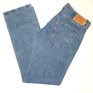 Levi's 501 Button Fly sz 36 x 34 Denim Jeans Men's
